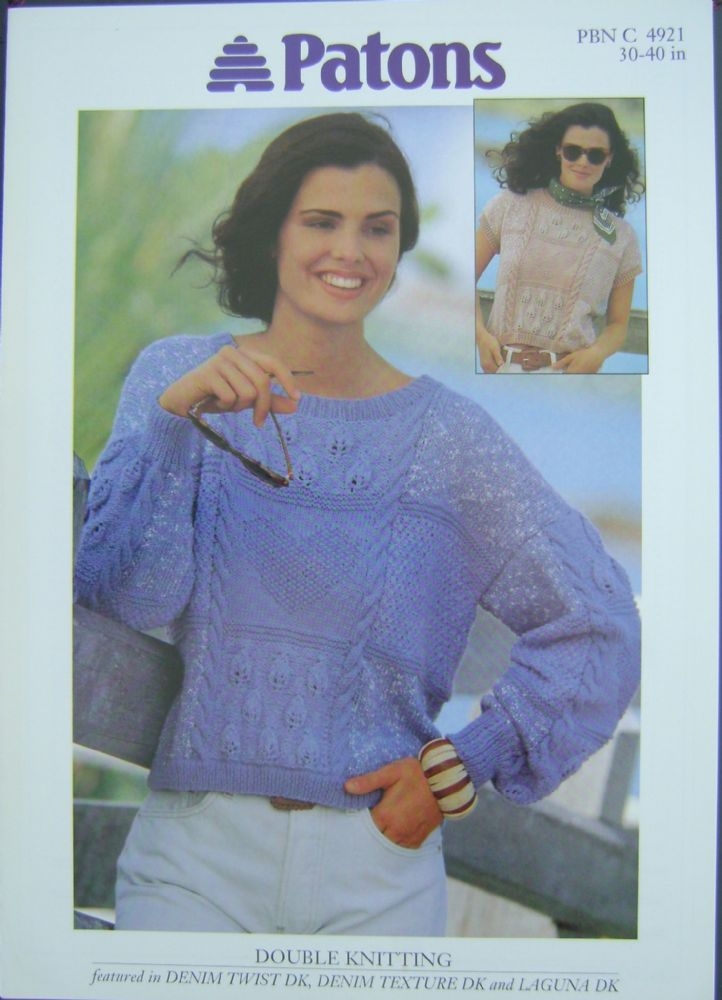 Patons Knitting Pattern 4921